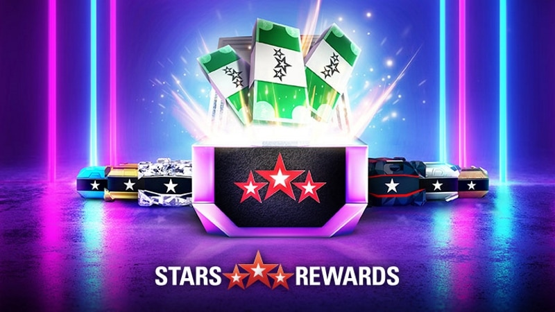 Весенняя акция 2019 года ПокерСтарс с джекпот сундуками Stars Rewards